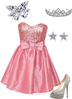 """""""Modern day """"Glinda"""" from wizard of oz"""" by james-n-rebecca-curtis on Polyvore"""