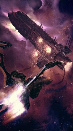 Battlefleet Gothic - Dark Eldar vs Imperium
