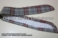 Cómo confeccionar un cuello con fuelle o tirilla en una camisa de hombre o mujer