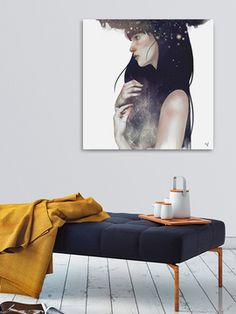 Crown of Stars by Hallie Elizabeth (Canvas) from Curate a Gallery Wall Feat. Curioos on Gilt