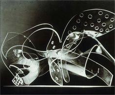 Rays, Plexiglas, 1945, (photograph by F.V. Raymond)