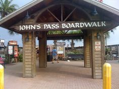 John's Pass Village and Boardwalk in Madeira Beach, FL