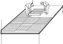 installing a pallet deck