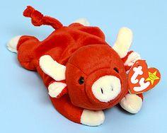Snort - bull - Ty Beanie Babies