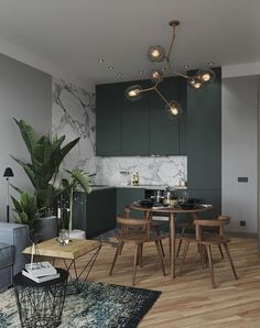 35 Beautiful And Affordable Dining Room Decoration Ideas For the Year 30 - Expolore the best and the special ideas about Dining room design Interior Design Kitchen, Modern Interior Design, Interior Design Inspiration, Interior Design Living Room, Living Room Decor, Luxury Interior, Interior Ideas, Design Interiors, Design Bedroom