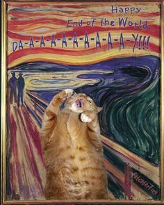 Fat Cat Art | O Grito – Edvard Munch
