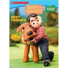 Davey & Goliath Color & Activity #1: Best Friends