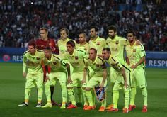 PSG,1 - FC Barcelona,3