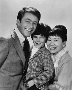 "TV show, ""The Courtship of Eddie's Father."" And what a handsome father he was."