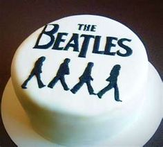 The Beatles Cake created by unknown