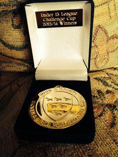 Cup final winners medal 2013/2014