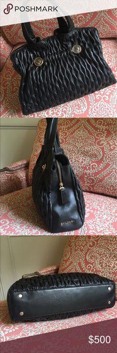 Authentic Bvlgari Handbag Authentic Bvlgari Handbag . Good condition. Very clean. bvlgari Bags Shoulder Bags