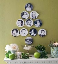 genealogy crafts for Christmas...