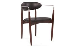 Viscount Chair by Dan Johnson | red modern furniture