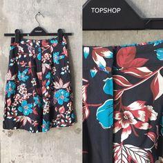 Topshop floral skort In great condition Topshop Shorts Skorts