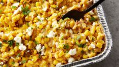 "This gorgeous side dish couldn't be easier to make, and it couldn't be more delicious, either! Grilled corn is topped with Mexican table cream, chipotle peppers and queso fresco for a dish that can only be described as ""total yum."""