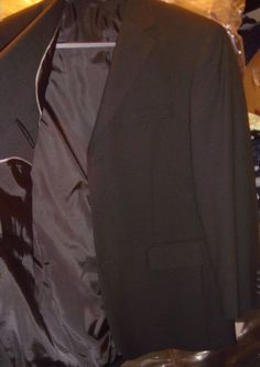Doc & Amelia Black Blazer Jacket Size 40 Reg Aerocool 3 Button Comfort  New NWT #DocAmelia #ThreeButton