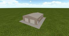 Cool 3D #marketing http://ift.tt/2gLxYGV #barn #workshop #greenhouse #garage #roofing #DIY