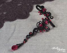 VAMPIRE EAR WRAP gothic ear wrap wire wrapped ear by bodaszilvia