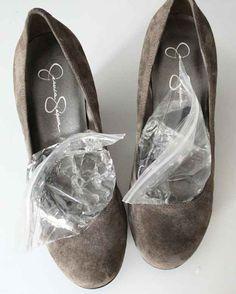 Helpful hacks for breaking in shoes