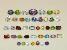 Sale 35.87tcw Mixed Lot Gemstones from scrap gold silver & vintage jewelry