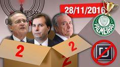 Anistia ao Caixa 2, Uber Proibidão, Palmeiras Campeão e Reis do Gado #Ot...