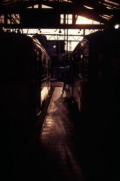 鹿児島駅にて