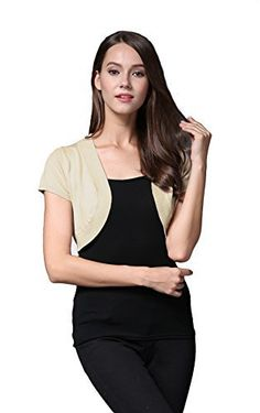 "Product review for Sofishie Trendy Short Sleeve Shrug Open Cardigan.  Casual short sleeve shrug open cardigan is easy to pair up with dresses or basic cami tank top to create a casual look.   	 		 			 				 					Famous Words of Inspiration...""Marriage resembles a pair of shears, so joined that they cannot be separated; often moving in opposite directions, yet..."