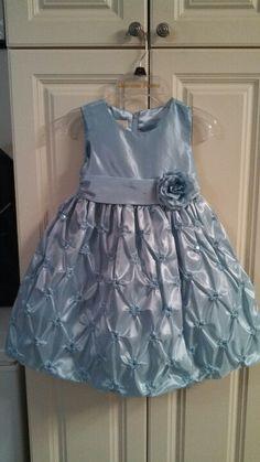 Flower Girl dress. Riley looks adorable in it