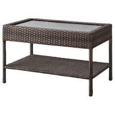 threshold wicker patio coffee table target mobile - Coffee Tables Target