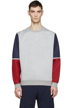 Mostly Heard Rarely Seen - Tricolor Americana Block Pullover
