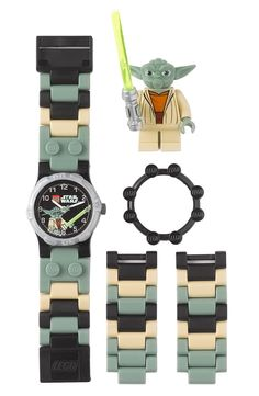 LEGO® 'Yoda™' Character Watch & Toy (Boys) Oh yes who says its for boys? Boooo