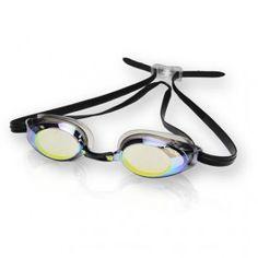 Gator Competition Plano Okulary pływackie Gator Competition przeznaczone są dla poważnych, profesjonalnych zawodników. Te okulary posiadają bardzo niski profil boczny dla zachowania bardziej opływowego kształtu głowy. By został zachowany stylowy i profesjonalny charakter okularów soczewki zostały przyciemnione. Wykonane zostały one z policarbonu i pokryte  lustrzaną warstwą odblaskową. Dodatkowo chronią przed promieniowaniem UV oraz zapobiegają efektowi parowania (warstwa Anti-fog)