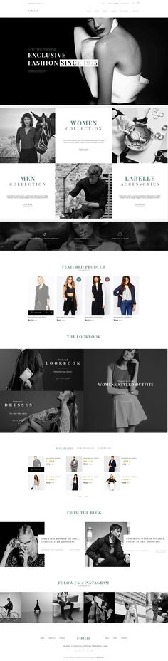 LaBelle is ideal #PSD Template for wonderful #eCommerce #website. Download Now!
