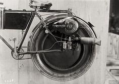 Bicyclette Voisin à moteur, 1920