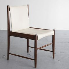 Sergio Rodrigues; 'Cantu' Dining Chair, 1967.