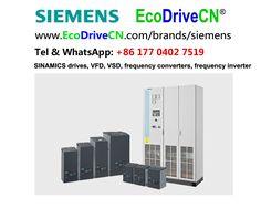 Siemens SINAMICS variable speed drives, VSD, VFD, variador de frecuencia, inversores de frequencia, frequency inverters.