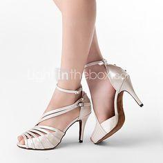 Zapatos de baile Salón de Baile/Danza latina/Salsa - Personalizados - Tacón Personalizado 2016 - $427.66
