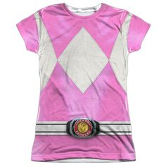 """Checkout our #LicensedGear products FREE SHIPPING + 10% OFF Coupon Code """"Official"""" Power Rangers/pink Ranger-s/s Junior Poly T- Shirt - Power Rangers/pink Ranger-s/s Junior Poly T- Shirt - Price: $24.99. Buy now at https://officiallylicensedgear.com/power-rangers-pink-ranger-s-s-junior-poly-t-shirt-licensed"""