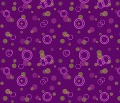 Rings _ bubbles fabric by diseniaz on Spoonflower - custom fabric Custom Fabric, Spoonflower, Craft Projects, Bubbles, Quilts, Wallpaper, Rings, Crafts, Design