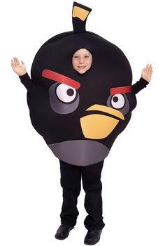 Angry Birds Black Bird Child Costume  #halloween #costumes
