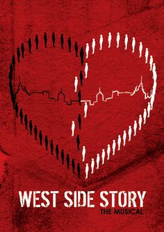 This is a really cool West Side Story poster