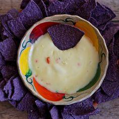 Queso Dip 'n Chip (Mexican fondue) recipe