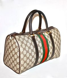 I WISH i HAD ALL OF MY VINTAGE GUCCI. I BET IT WOULD BE WORTH SOME CASH NOW!