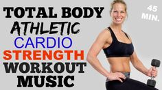 Total Body HIIT Cardio + Weights Workout, Brutal HIIT Workout