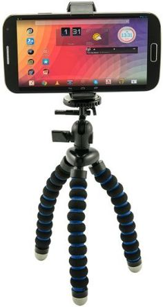Arkon Universal Smartphone Holder and Flexible Mini Tripod for iPhone 6 Plus iPhone 6 5C 5S Samsung Galaxy Note 4 3 S6 S5 S4 Model MG2TRI Electronics Consumer Store *** See this great product.