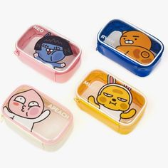 Particulars about Kakao Pals Official Items PVC Clear Pouch Waterproof Journey Make-up Bag 128 , Apeach Kakao, Kakao Friends, Korean Stationery, Makeup Pouch, Line Friends, Travel Makeup, Cute Characters, Cute Stickers, Kids Toys