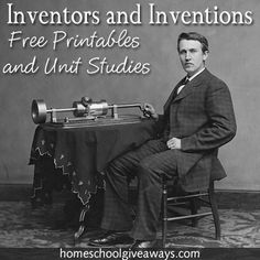 Studying Inventors and inventions makes for a great history lesson and a lesson on appreciating what we have! Homeschool Giveaways ha (Scheduled via TrafficWonker.com)