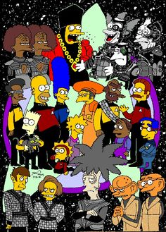 Star Trek: The Next Generation and The Simpsons Star Trek Show, Star Trek Tv, Star Wars, Star Trek Characters, Simpsons Characters, Star Trek Universe, The Simpsons, Simpsons Quotes, Stargate