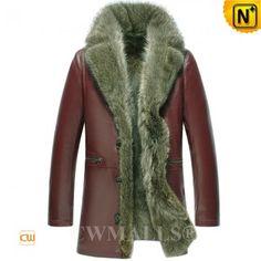Mens Fur Coat CW836022 www.cwmalls.com